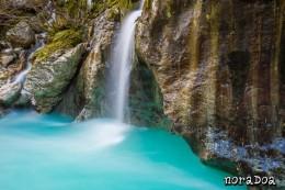 Gran cañón del río Soca