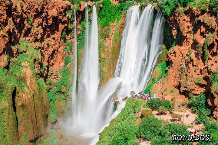 Cascada de Ouzoud (Marruecos)