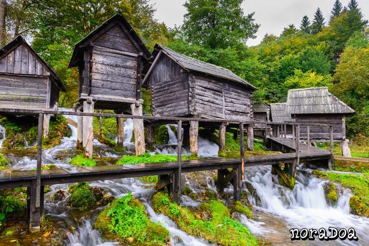 Molinos de agua, Jajce (Bosnia-Herzegovina)