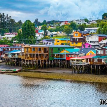 Palafitos de Castro, isla de Chiloé (Chile)