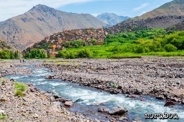 Pueblo de Aroumd (Marruecos)