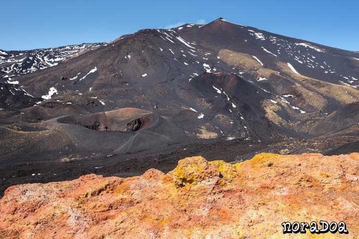 Volcán Etna, Sicilia (Italia)