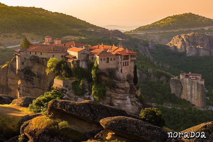Monasterios de Meteora (Grecia)