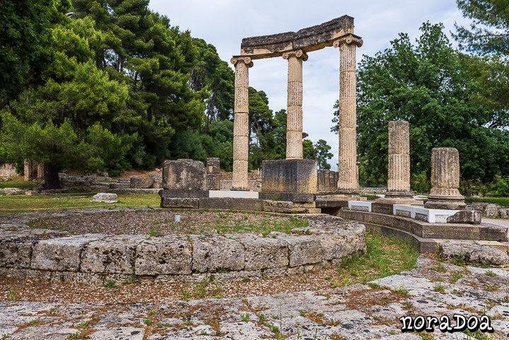 Ruinas de la ciudad de Olimpia (Grecia)