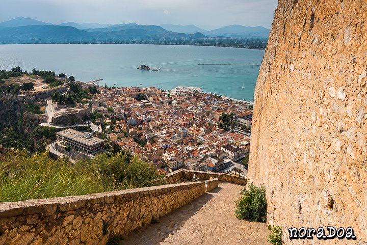 Pueblo de Nafplio (Grecia)