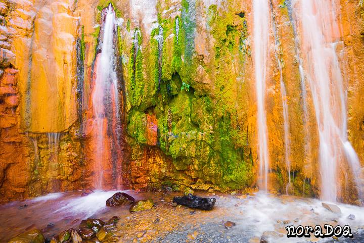 Cascada de Colores, La Palma (España)