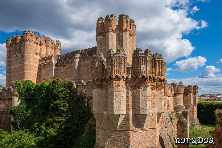 Castillo de Coca, Segovia (España)