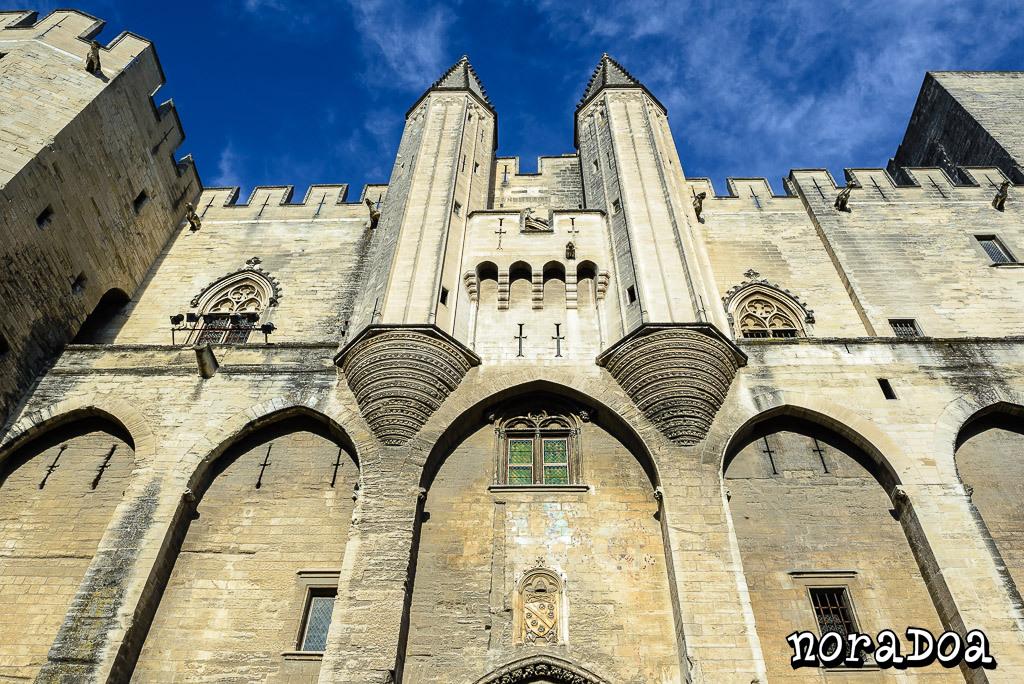 Palacio Papal de Avignon (Francia)