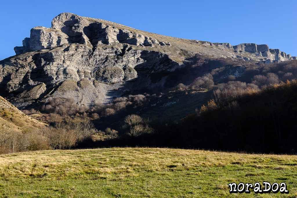 Beriain-San Donato en la sierra de Andía, Navarra