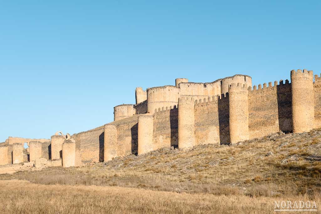 Murallas del castillo de Berlanga de Duero