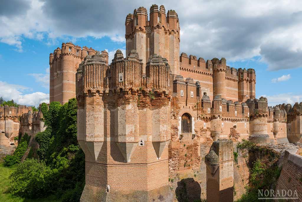 Castillo gótico-mudéjar de Coca