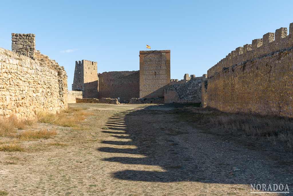 El castillo de Gormaz es una fortaleza de origen musulmán