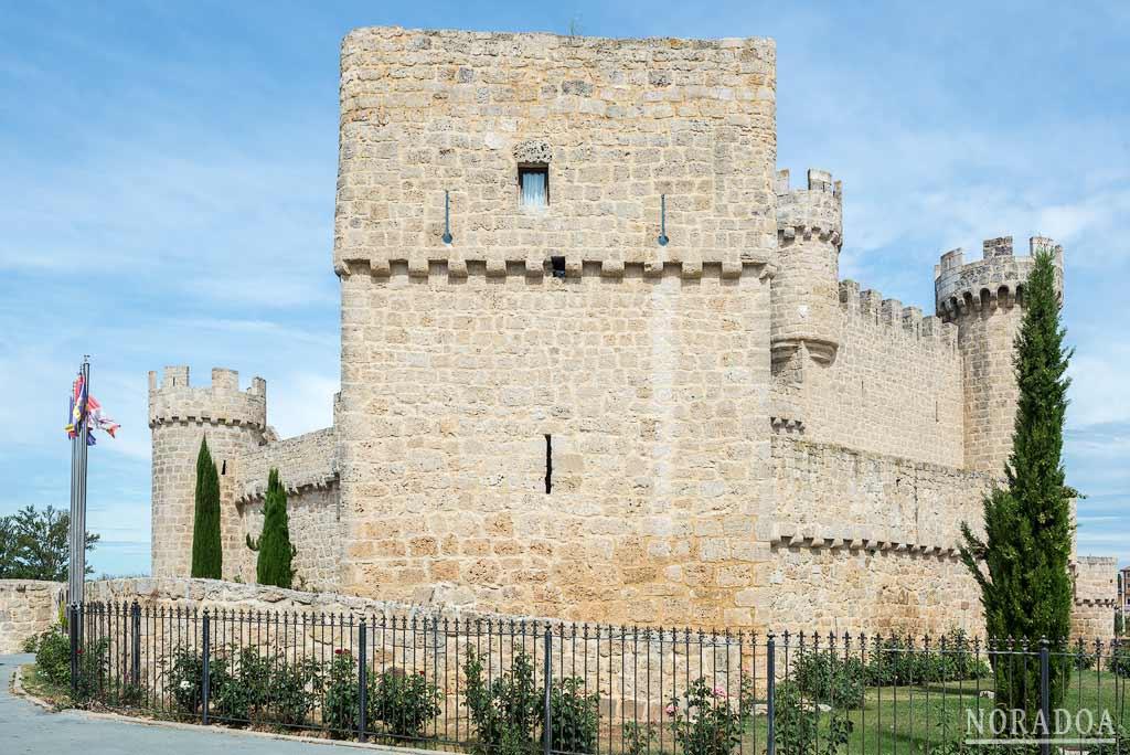 El castillo de Olmillos de Sasamón actualmente funciona como hotel