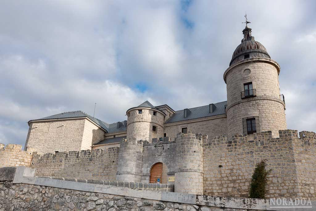 El castillo de Simancas es sede del Archivo General de Simancas