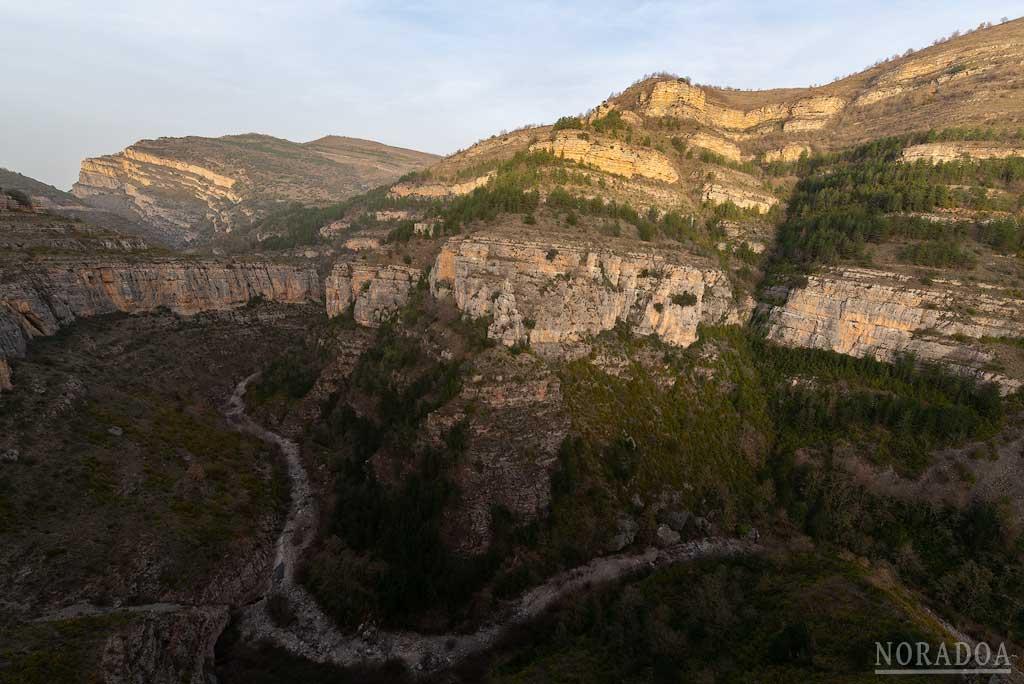 Cañón del río Leza