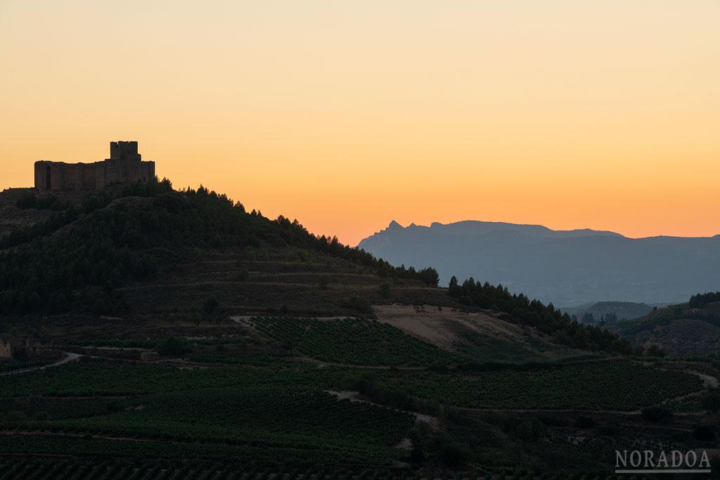 Castillo de Davalillo al atardecer
