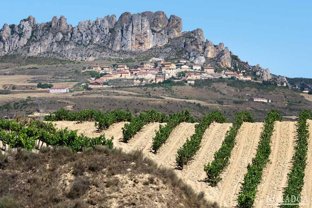 Cellorigo es conocido como el Balcón de La Rioja