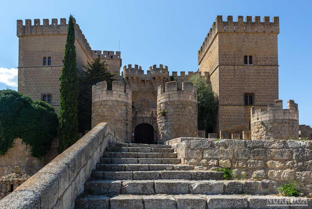 Castillo de Ampudia, el mejor conservado de la provincia de Palencia